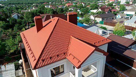 Сколько стоит построить крышу частного дома в Пензе