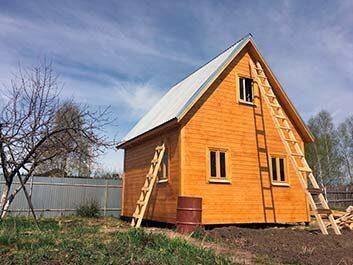 Цена на строительство двускатной крыши в Пензе