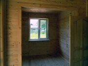 Деревянный интерьер каркасного дачного дома с верандой в Пензе